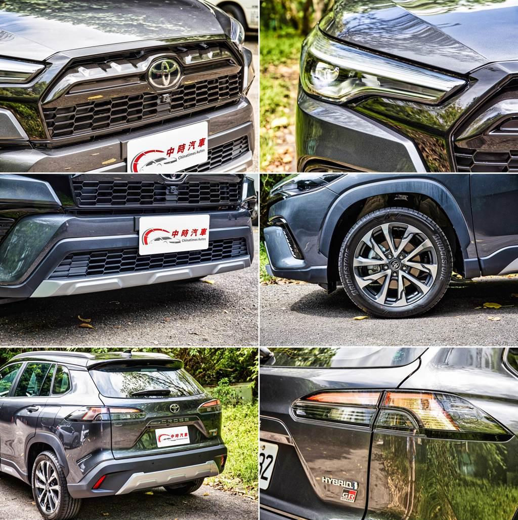許多Hybrid車型所具備的細節在GR Sport上不再強調,僅有車尾銘牌能夠看出Hybrid身分。(圖/陳彥文攝)