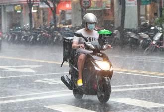 午後雷雨彈轟炸 10縣市豪大雨特報