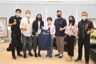 T1聯盟會長錢薇娟拜會中市府 盧秀燕:樂見台灣籃球蓬勃發展