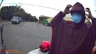 大熱天穿雨衣騎車真可疑 新營警抓到偷車賊