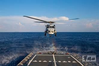 海軍「漢光37號」實兵演習 田單軍艦展強大戰力