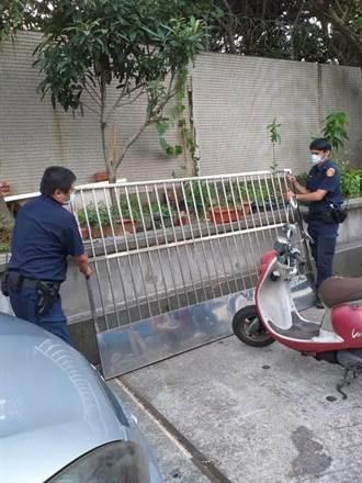 竊賊偷鐵窗被查獲持有毒品 被逮竟要警方「就事論事」就好