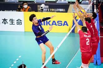 男排亞錦賽》慘遭伊朗橫掃 中華隊仍闖4強準決賽