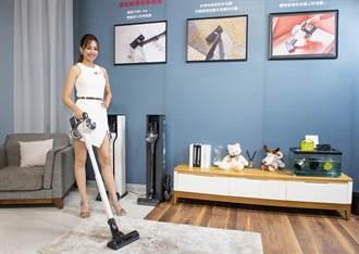 LG A9 T系列All-in-One溼拖無線吸塵器 配業界首創智慧集塵收納充電座