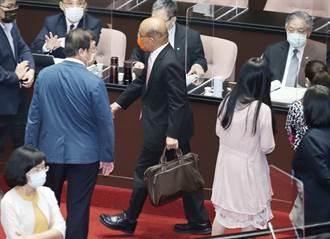 蘇貞昌報告3+11遭杯葛 郭正亮反點出在野黨問題