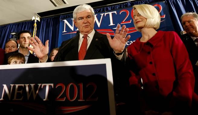 美國前眾議院議長金瑞契(Newt Gingrich)。(新華社資料照片)