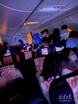 法航北京飛巴黎客艙突起火 乘客尖叫「爆炸了」驚悚畫面曝光