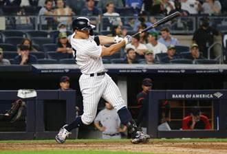 MLB》洋基5轟煙火秀 張育成吞再見三振
