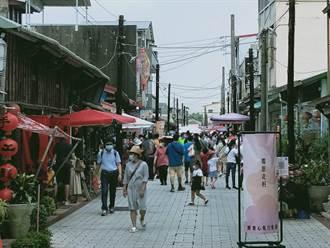 中秋連假首日 台南後壁菁寮老街搭《俗女》旋風人潮湧現