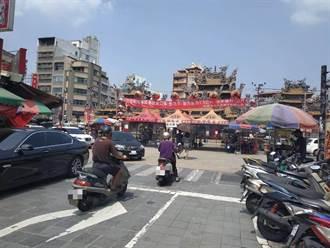 中秋連假出遊 北港朝天宮人潮較平日多5成