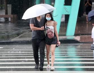 連假雨彈開炸 對流旺盛 5縣市豪大雨特報