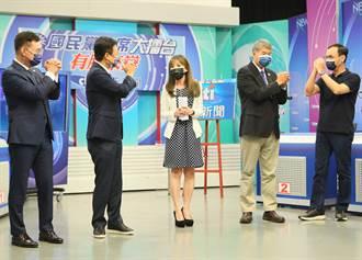 KMT主席大擂台》蘇煥智:朱很危險、張很新鮮 江卓已被邊緣化