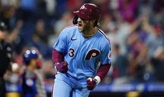 MLB》哈波季末大爆走 近21場10轟打擊數據高到破錶