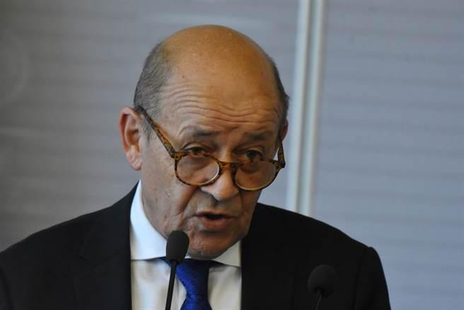 法國外交部長勒德里安(Jean-Yves Le Drian)。(達志影像/shutterstock提供)