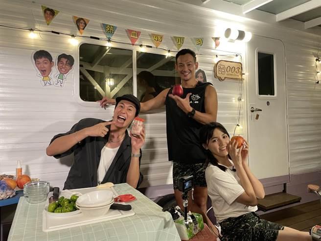 風田(左起)、威廉、朵拉。(TVBS提供)