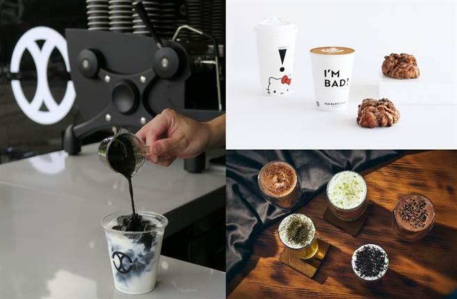 邁入浪漫秋季,CHLIV Jiufen、CAFE!N、SIPSHIP、&TEA、萬波島嶼紅茶均推出充滿驚喜的新潮飲品。(圖/楊婕安攝、品牌提供)