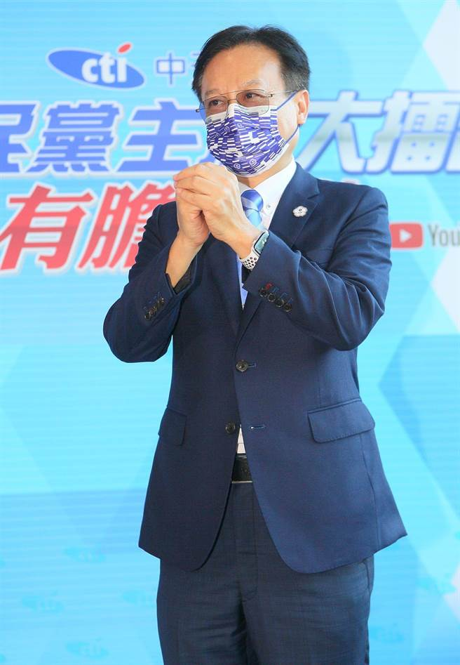 候選人卓伯源(中天新聞提供)
