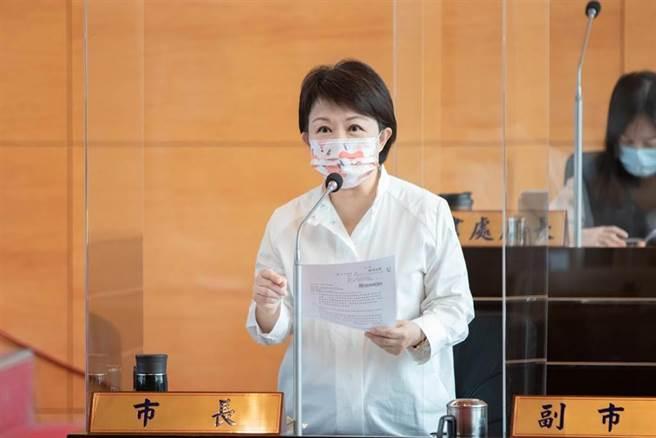 台中市長盧秀燕。(資料照,盧金足攝)