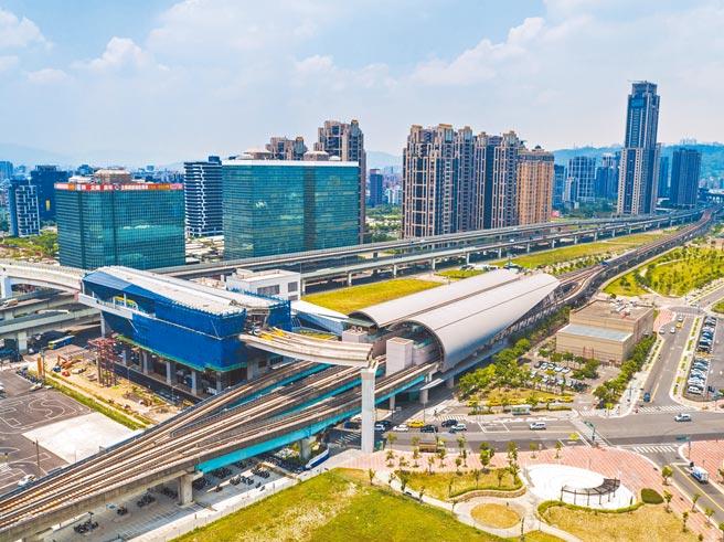 新莊擁有三大捷運線加持,生活機能相當便捷,為新北家戶成長最快的行政區之一。(鄉林提供)