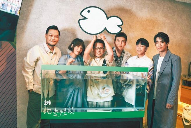 魚丁糸昨舉辦新專輯線上發片活動暨首聽會。(環球音樂提供)