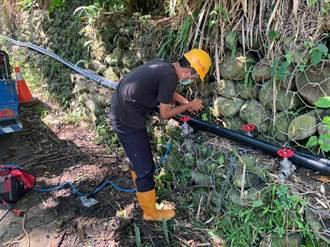 東勢慶福里簡易自來水年底前完工 穩定近200戶居民用水