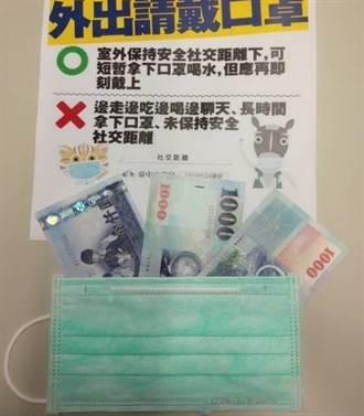中市法制局溫馨提醒 防疫期間「罩」住你的3千元
