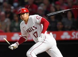 MLB》大谷翔平斷棒雙安 天使又輸運動家