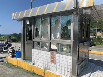 九份停車場爆流血衝突!女方兒揪10多人助陣談判 2男遭砍傷