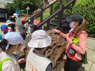 野柳地質公園培訓小小研究員 探索大自然奧妙