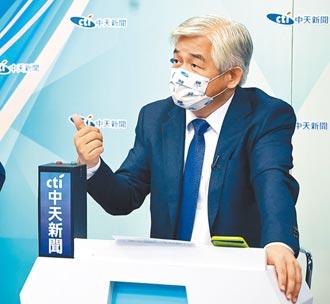 KMT主席大擂台》黨名去中國化 4人難得一致反對