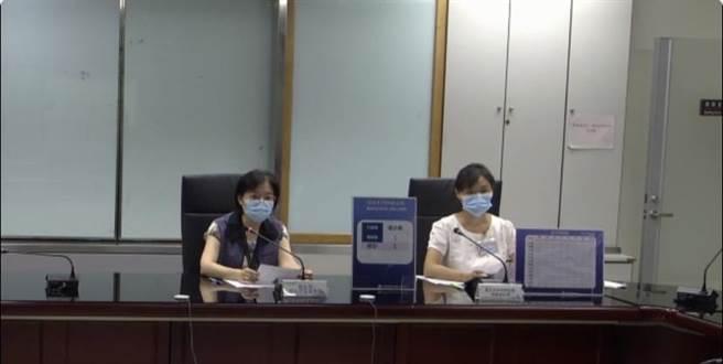 北市衛生局表示,個案16251(媽媽)在9月17日由衛生單位安排採檢,於今日確診CT值34,匡列16位都是陰性。(摘自北市衛生局線上記者會)