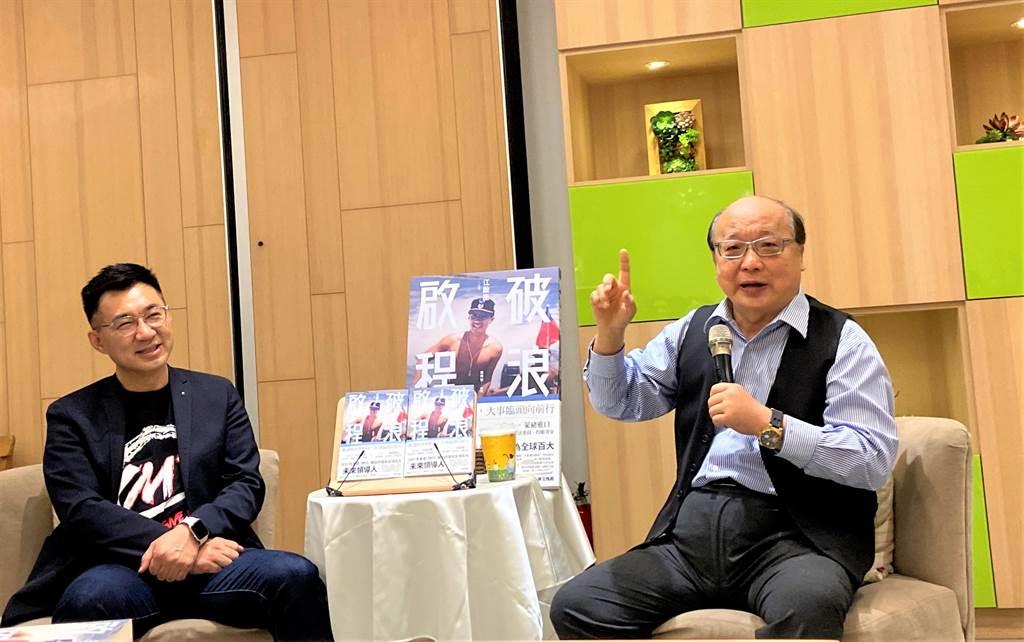 前台中市長胡志強20日在臉書發文表態「支持江啟臣連任黨主席」。(資料照.盧金足攝)