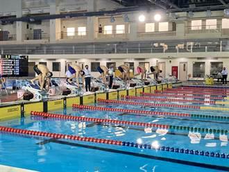 總統盃游泳錦標賽 中市泳將蔡秉融200蛙式破大會紀錄