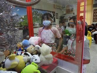 花蓮崇德國小專屬娃娃機 提升學生學習動機