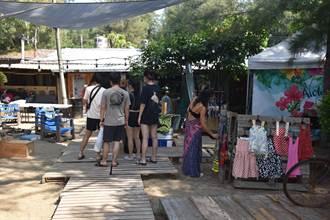 苗栗縣政府鼓勵民眾 到竹南假日之森戲浪抓住夏日尾巴