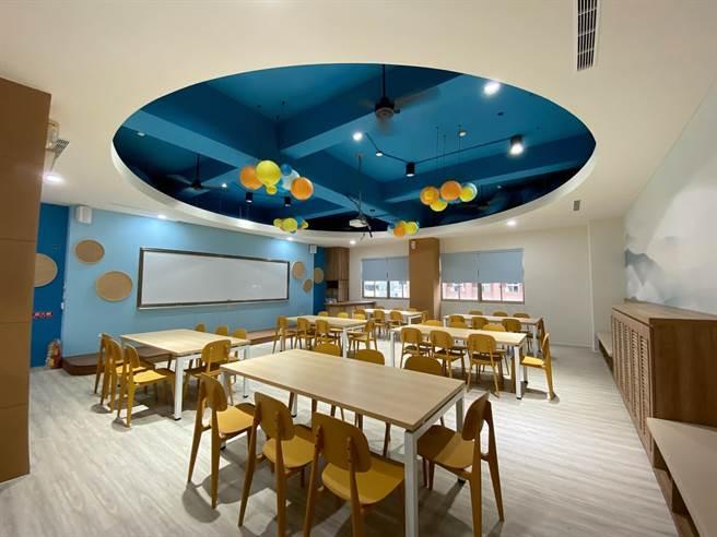 中興大學附屬高中進行校園空間改善及活化。(教育部提供/林志成台北傳真)
