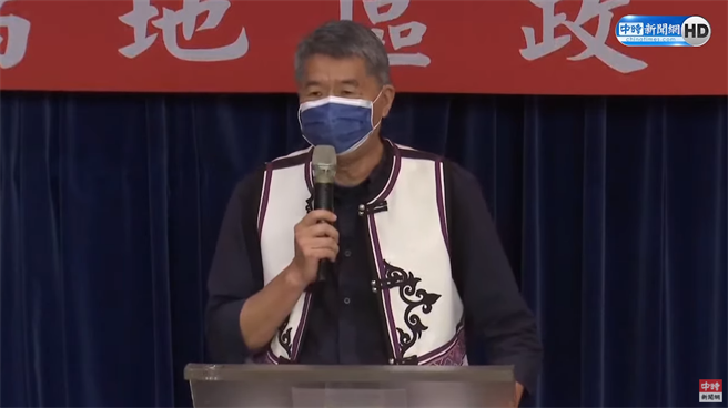 孫文學校總校長張亞中。(圖/中時新聞網直播)