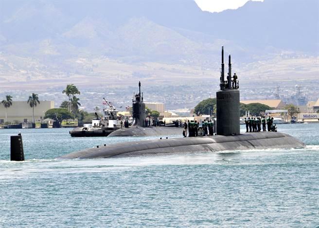 澳洲反核組織強烈反對澳軍運作核潛艦,擔心這是政府偷渡核能發電的「特洛伊木馬」。圖為美軍核潛艦。(圖/DVIDS)