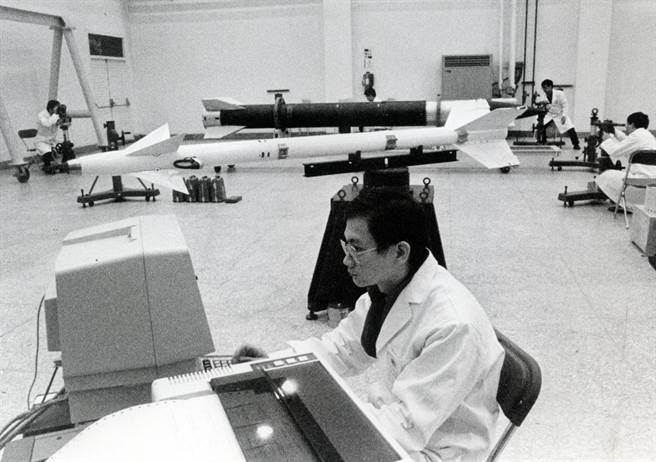 國軍天弓一型飛彈研製。(中時攝影組攝,中時報系檔案照禁止轉載)