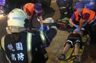 桃園蘆竹2外籍移工暗夜遭撞 噴飛路旁車底慘死