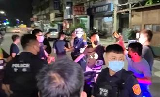 三重烤肉爆衝突 超商買酒插隊引互毆警強勢逮21人