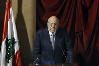 政治癱瘓13個月 黎巴嫩新內閣通過信任投票