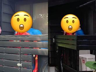 2「超級英雄」景點內前後緊貼 網羞喊母湯:童年崩壞