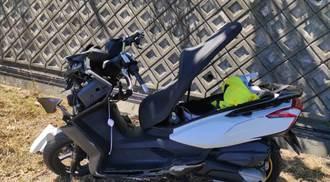 49歲男戴西瓜皮騎重機遊花蓮 不明原因自撞路燈亡