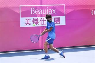 網球》雖少搭擋 陳冠守、林豪鈺男雙仍連勝摘OPI盃冠軍