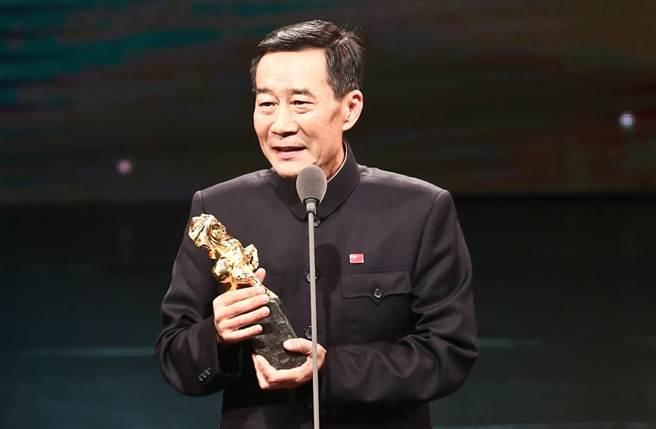 李雪健2013年獲得金馬獎最佳男配角。(圖/本報系資料照)