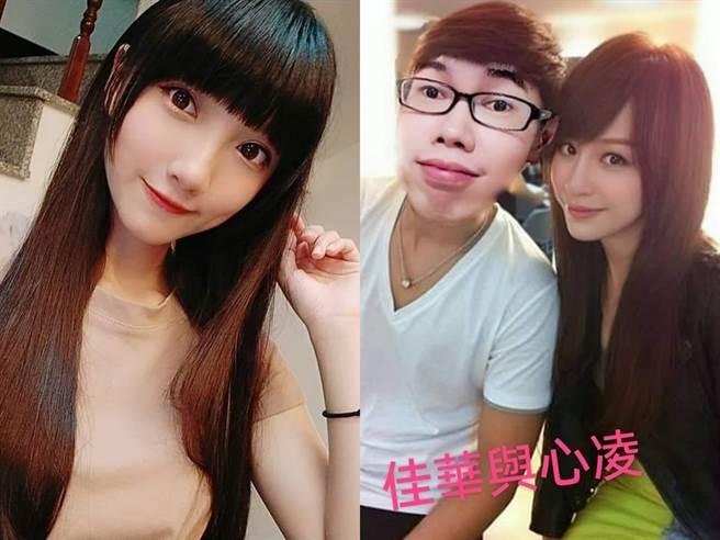 鄧佳華曾表態愛慕宜軒和王心凌。(圖/FB@香草姐姐、鄧佳華)