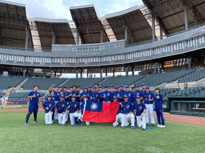 中華隊備戰U23世界盃棒球賽。(中華棒協提供)