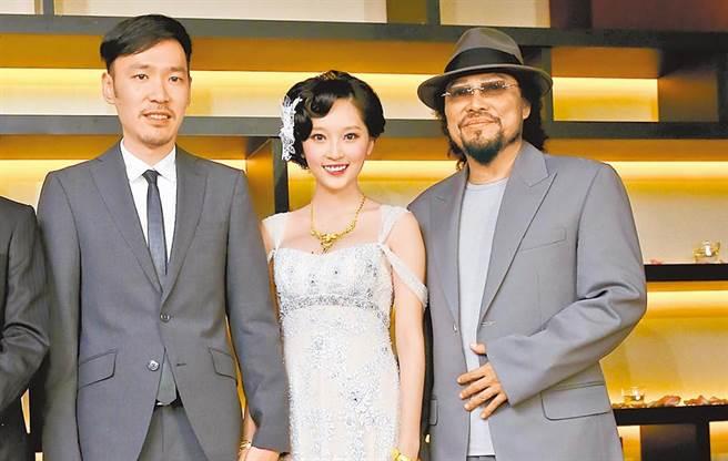 翁馨儀2013年和張少懷結婚,成為張菲的媳婦。(圖/中時資料照)