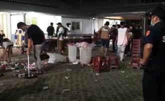 台東民宿中秋夜烤肉爆發群毆 4人掛彩1人中指險遭砍斷